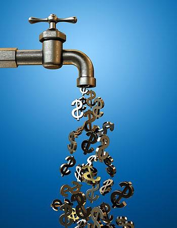 Экономия на оплате за воду