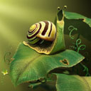 Скачать бесплатно Цветную картинку №0181 для мобильного телефона из раздела Животные, насекомые, рыбы, формат jpg